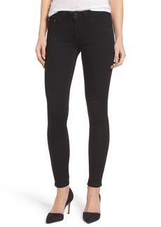 True Religion Brand Jeans Halle Super Skinny Jeans (Way Back Black)