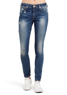 True Religion Brand Jeans Jennie Curvy Ankle Skinny Jeans (Bell Blues)
