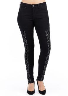 True Religion Brand Jeans Jennie Curvy Fit Jeans (Black Diamond)