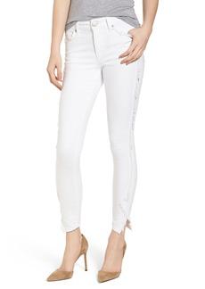 True Religion Brand Jeans Jennie Curvy Skinny Jeans (Optic White)