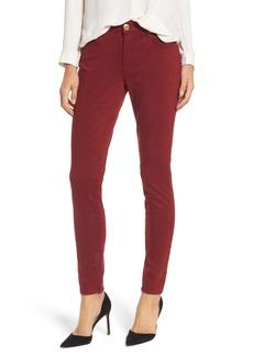 True Religion Brand Jeans Jennie Curvy Skinny Jeans (Ox Blood)