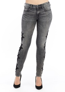 True Religion Brand Jeans Jennie Curvy Skinny Jeans (Rhodium)