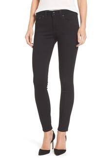 True Religion Brand Jeans Jennie Curvy Skinny Jeans (Way Back Black)