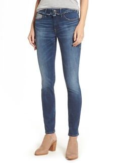 True Religion Brand Jeans Jennie Deconstructed Skinny Jeans (Broken Record)