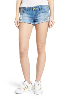 True Religion Brand Jeans Joey Cutoff Denim Shorts (Blue Wonder)