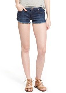 True Religion Brand Jeans Joey Flap Pocket Cutoff Denim Shorts (Worn Vintage)