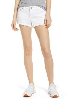 True Religion Brand Jeans Kieras Cutoff Denim Shorts (Optic White)