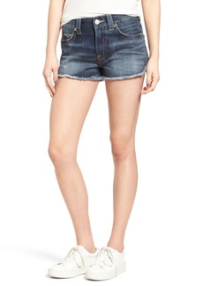 True Religion Brand Jeans Kori Cutoff Denim Boyfriend Shorts (Oceana Blue)