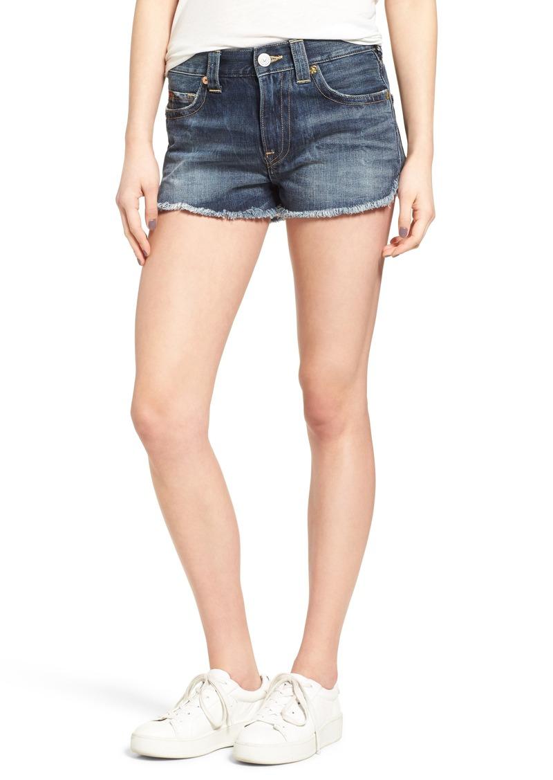 On Sale today! True Religion True Religion Brand Jeans Kori Cutoff Denim Boyfriend Shorts ...