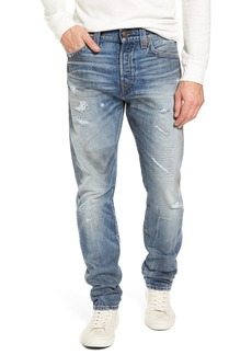True Religion Brand Jeans Logan Slim Straight Fit Jeans (Mended Street Brawl)