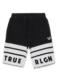 True Religion Brand Jeans Logo Athletic Shorts (Toddler Boys & Little Boys)
