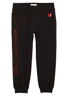 True Religion Brand Jeans Mesh Logo Sweatpants (Toddler Boys & Little Boys)