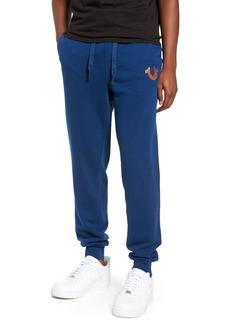True Religion Brand Jeans Metallic Buddha Sweatpants