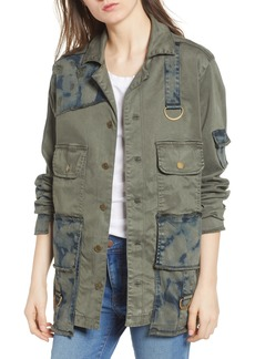True Religion Brand Jeans Military Jacket