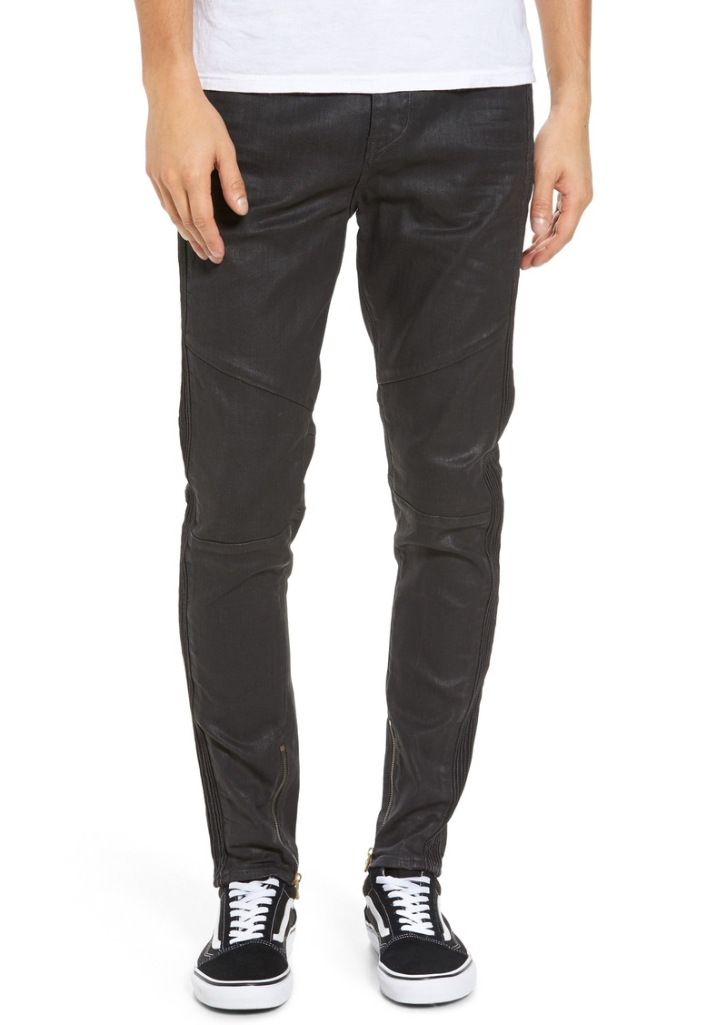 True Religion Brand Jeans Racer Skinny Fit Jeans (Dark Crater)