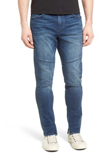 True Religion Brand Jeans Racer Skinny Fit Jeans (Whiskey Blues)