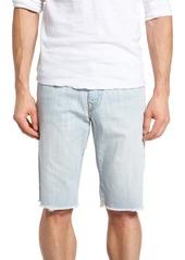 True Religion Brand Jeans Ricky Cutoff Denim Shorts