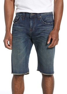 True Religion Brand Jeans Ricky Relaxed Fit Cutoff Shorts (Reverent Tint)