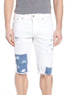 True Religion Brand Jeans Ricky Relaxed Fit Denim Shorts (Street Cred)