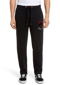 True Religion Brand Jeans Rising Sun Embroidered Sweatpants