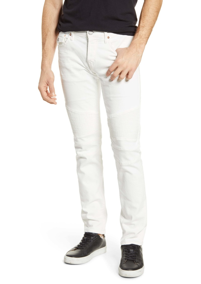 True Religion Brand Jeans Rocco Biker Extra Slim Fit Jeans