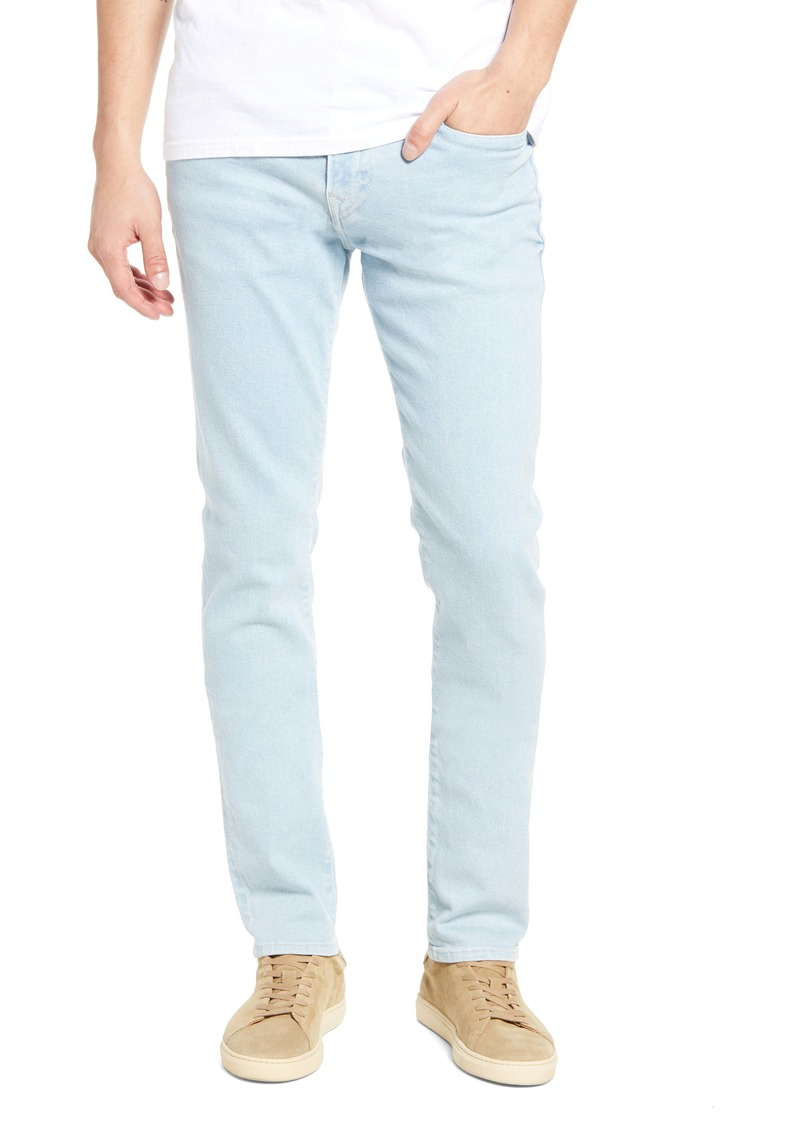 True Religion Brand Jeans Rocco Se Manu Core Skinny Fit Jeans (Clean Wave Sky Wash)