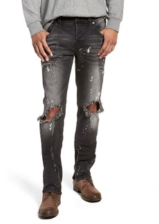 True Religion Brand Jeans Rocco Skinny Fit Jeans (Cyber Rebel)
