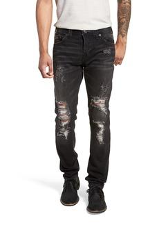 True Religion Brand Jeans Rocco Skinny Fit Jeans (Eqyd Dark Street)