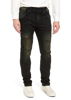 True Religion Brand Jeans Rocco Skinny Fit Jeans (Green Blaze)