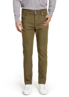 True Religion Brand Jeans Rocco Skinny Fit Jeans (Military Green)