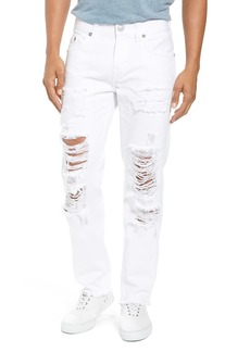 True Religion Brand Jeans Rocco Skinny Fit jeans (White Volcanic Ash)