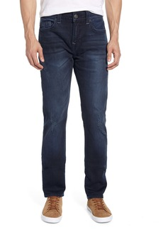 True Religion Brand Jeans Rocco Skinny Fit Jeans (Worn Dark Terrain)