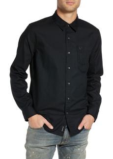 True Religion Brand Jeans Solid Essential Sport Shirt