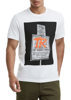 True Religion Brand Jeans Tagged Sign T-Shirt