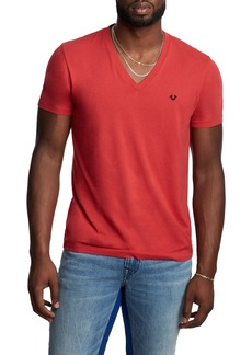 True Religion Brand Jeans V-Neck T-Shirt