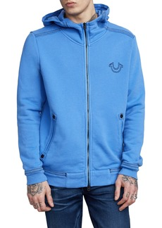 True Religion Brand Jeans Zip-Up Hoodie