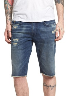 True Religion Brands Jeans Ricky Relaxed Fit Shorts (Worn Azul)
