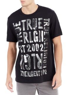 True Religion Brushed Graphic T-Shirt