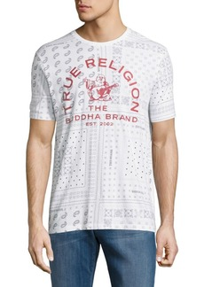 True Religion Buddha Brand Crewneck T-Shirt