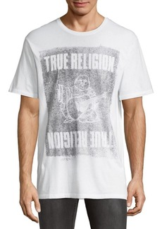 True Religion Buddha Cotton Tee