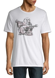 True Religion Buddha Ink Cotton Tee