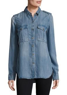 True Religion Button-Down Denim Shirt