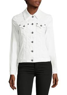 True Religion Button-Down Stretch Jacket
