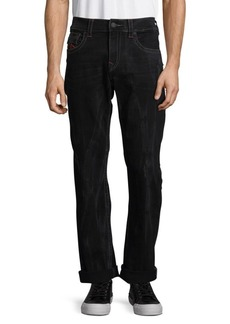 True Religion Flap-Pocket Straight Jeans
