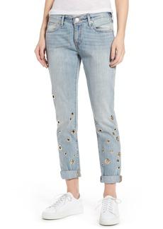 True Religion Cameron Boyfriend Jeans (Cloud Nine)