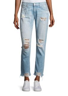 True Religion Cameron Distressed Boyfriend Jeans