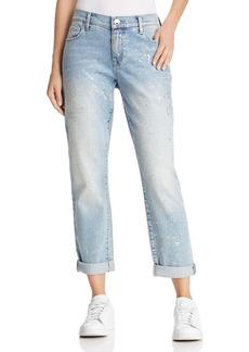 True Religion Cameron Slim Boyfriend Jeans in Chrome Constellation