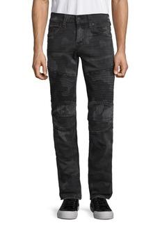 True Religion Moto Skinny Big T Jeans