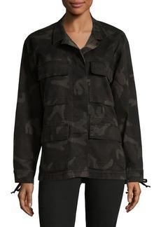 True Religion Camo Military Jacket