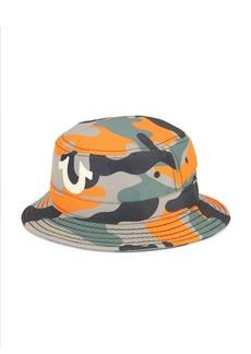 True Religion Camo-Print Bucket Hat